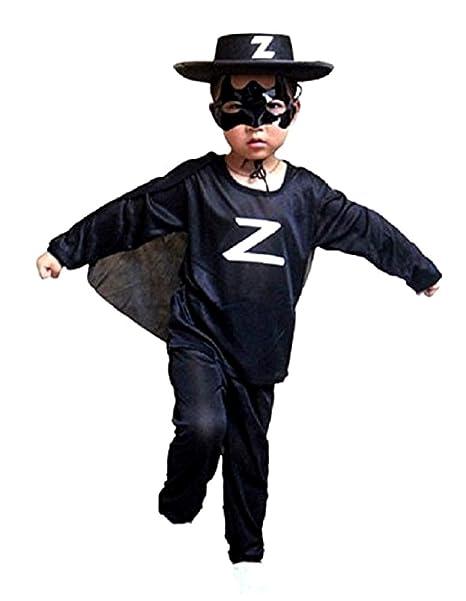 Disfraz Zorro - Disfraz de Spadaccino - Disfraz para niños ...