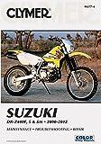 00-14 SUZUKI DRZ400S: Clymer Service Manual