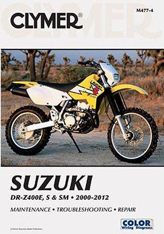 00-14 SUZUKI DRZ400S: Clymer Service Manual by Clymer (Image #1)