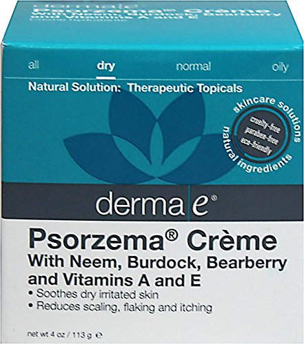 Derma E Psorzema Cream 4.0 ounces, 113 grams. Pack of 1
