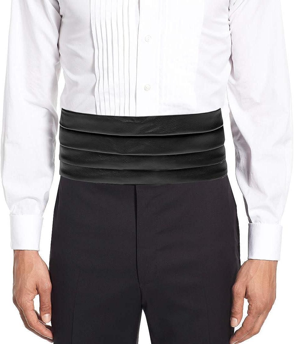 Amazon.com: Remo Sartori – Cinturón de esmoquin para hombre ...