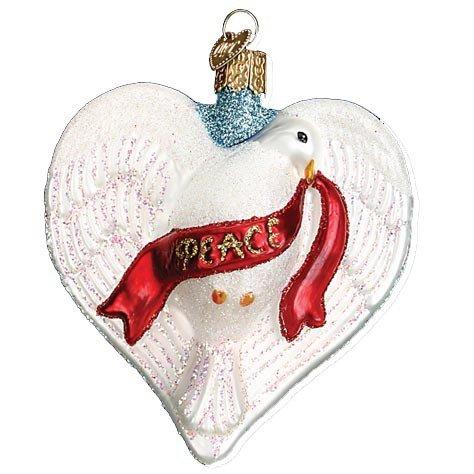 Peace Dove Ornament - 5