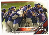 Baseball MLB 2016 Topps Chicago Cubs World Series Champions Box Set #WS-15 Chicago Cubs Cubs