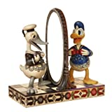 Disney Traditions by Jim Shore 4015343 Donald Duck 75th Anniversary Figurine 8-1/4-Inch
