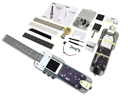 DU-ONE Electronic DIY Ukulele - MIDI Electric Guitar Controller with Multiple Tones & Rhythms (iPad and Android compatible) by MAKER HART