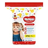 #10: HUGGIES Simply Clean Fragrance-Free Baby Wipes Refill Pack, 216 Count