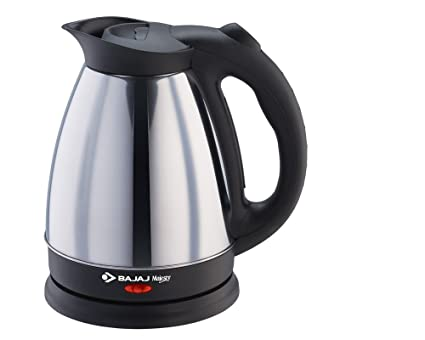 Bajaj Majesty KTX 15 1.7 Litre Kettle (Black and Silver)