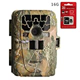Bestguarder PIR 65° 12MP HD 1080P Waterproof IP66 Game & Trail Hunting Camera Scouting Camera with 36pcs 940nm IR-LED and 2.0