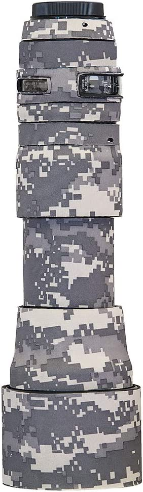 LensCoat Cover Camouflage Neoprene Camera Lens Cover Protection Sigma 150-600mm F/5-6.3 DG OS HSM, Digital Camo (lcs150600cdc)