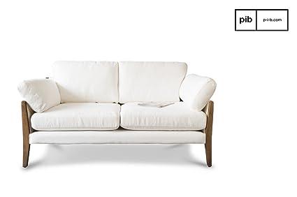 pib - Sofás - Sofa Blanco de Estilo Vintage Ariston, La ...
