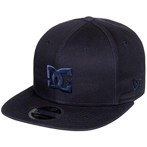 DC Apparel Men's Heritage 950 Snapback Hat, Dark Indigo, 1SZ - Dc Dyrdek Skate Shoes