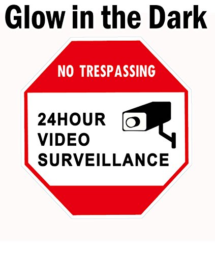 WISLIFE Video Surveillance Sign Trespassing product image