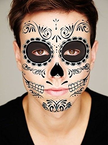 Day of the Dead - (Green Package) (Day Of The Dead Face Tattoo)