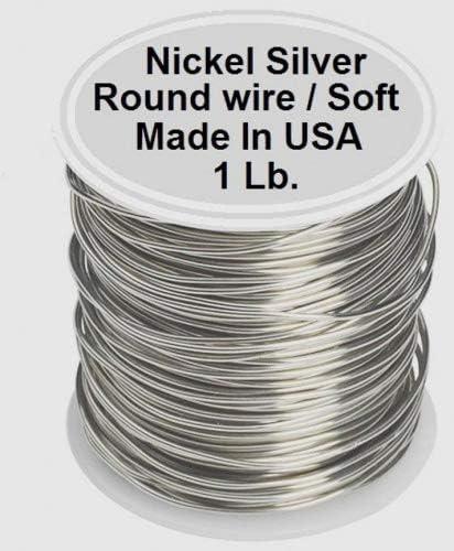 1 Lb - 126 Ft // Spool Half Hard 16 Ga Bare Solid Copper Wire