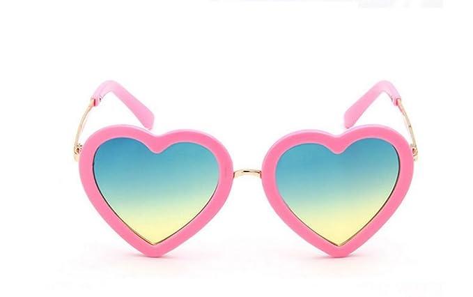 BIGBOBA Gafas de Sol para Niño y Niña -Gafas de Sol de Forma ...