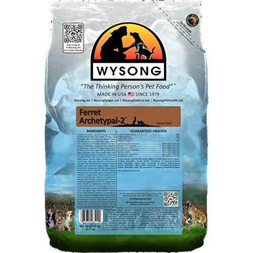 Wysong Ferret Archetypal-2 - Dry Ferret Food - 5 Pound Bag