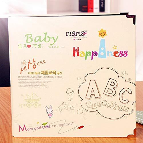 Sticky Album - Album 30 Sheets Cards Diy Creative Handmade Gift Paste Baby Photos Memorial Christmas - Albums Photo Albums Scrapbook Album Baby Wedding Black Children Frame Ph