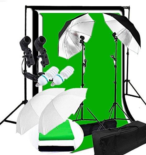 canadianstudio-photo-studio-continuous-2-head-umbrella-lighting-light-black-white-green-high-key-mus