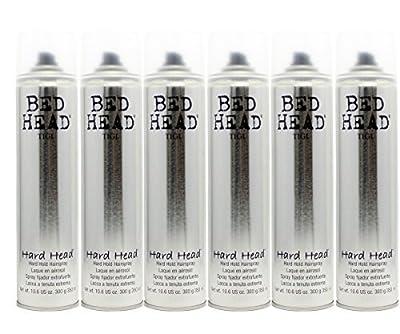 Tigi Bedhead Hard Head Hairspray (6 Pack)
