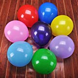 50pcs 12inch 2.8g Assorted Latex Balloons for Happy Birthday Party Balloons Solid Home Decoration Multicolor