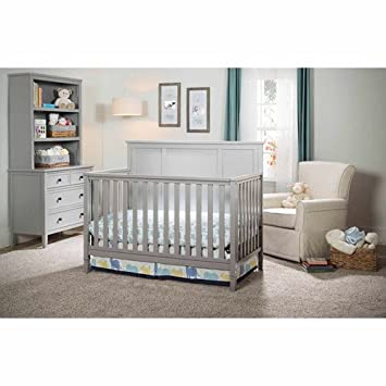 Brand New Delta Epic 4 In 1 Convertible Baby Crib Toddler Day Bed