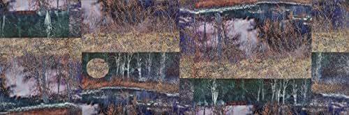 com: Burning Landscape 5 (Print - 12x36 in.): Jesse Sanchez: Fine Art