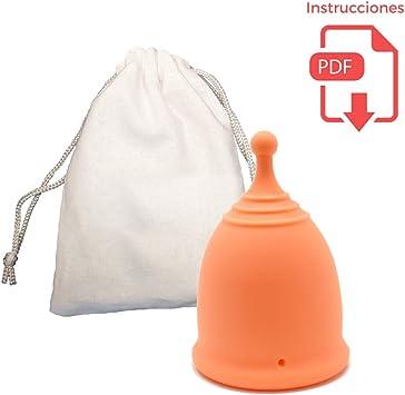 Copa Menstrual Divina con Bolita para Extracción Fácil - 12 horas ...