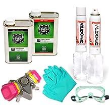 Ultra Ever Dry Quart Kit 1 QT Bottom, 1 QT Top Coat, Ultra-Mini Sprayers, and Protective Gear