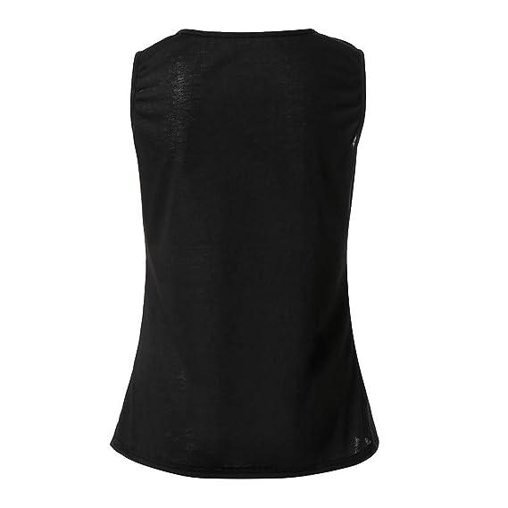 Amazon.com  Kulywon Womens Bohemian Sleeveless O Neck Printed Slim Fit Tee Shirt  Top Blouse  Clothing