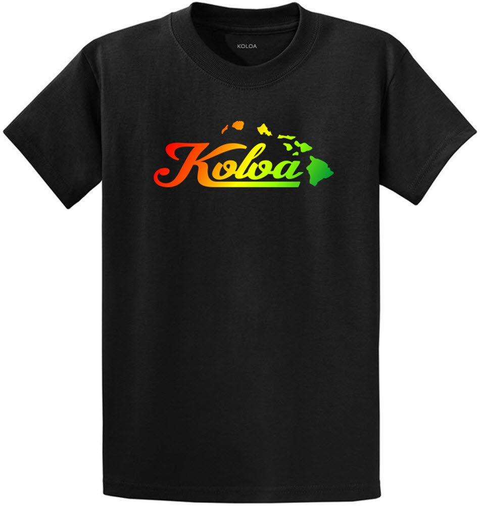 Joe's USA SHIRT メンズ B073YK3FTF 6L Black Rasta Logo (Heavyweight 100% Cotton) Black Rasta Logo (Heavyweight 100% Cotton) 6L