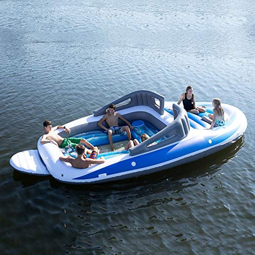 6-Person Inflatable Bay Breeze Boat Island Party Island by SunPleasureInflatable (Image #8)