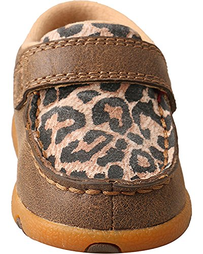 Pictures of Twisted X Infant-Girls' Leopard Driving Moccasins - 6