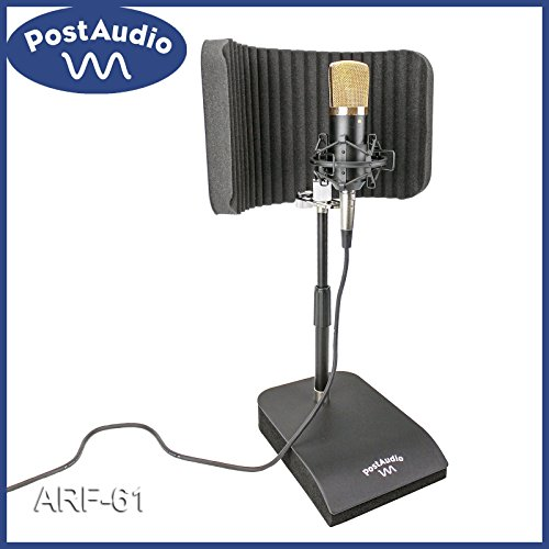 Post Audio ARF-61 Vocal Booth with Isolated Shock MountedDesk Stand