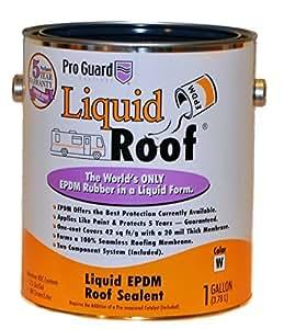 Amazon Com Liquid Roof Rv Roof Coating Amp Repair 1 Gallon
