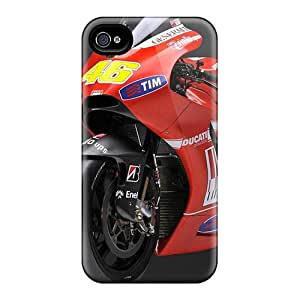 Durable Case For The Iphone 4/4s- Eco-friendly Retail Packaging(rossi 46 Ducati)