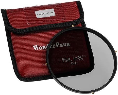Fotodiox WonderPana 145 Essentials Kit-System Holder Lens Cap and CPL Filter for The Nikon 14-24mm f//2.8G ED AF-S Nikkor Wide Angle Zoom Lens