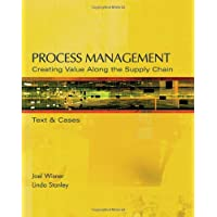 Process Management: Creating Value Along the Supply Chain (with CD-ROM and InfoTrac®)