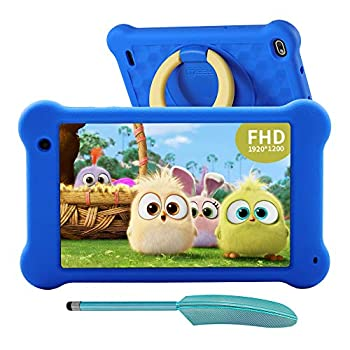 AEEZO Children Pill 7 inch WiFi Android 10 Pill PC 2020 New FHD 1920×1200 IPS Display, 2GB RAM 32GB ROM, Parental Management, Kidoz Put in, Eye Safety Anti Blue Mild Display Prime (Blue)