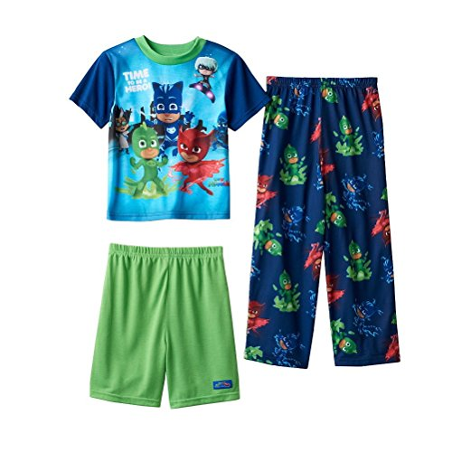 PJ Masks 3-Piece Pajama Set Boys