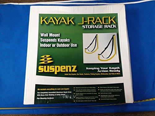 Suspenz Kayak Storage Racks Universal Flat Rack Wall Mount by Canoe (Image #1)