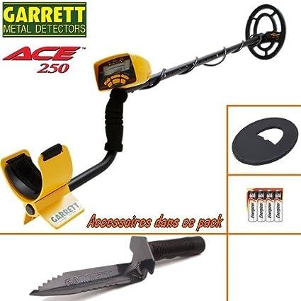 Prolyte Ace 250-Detector De metales con su protección Disco-Cuchillo De registro