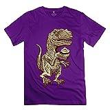 De los hombres Velociraptors Love Cupcakes playera 100% algodón Funny 0c3555c80da26