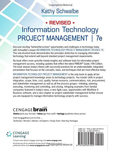 Information Technology Management: Information Technology Project Management, Revised