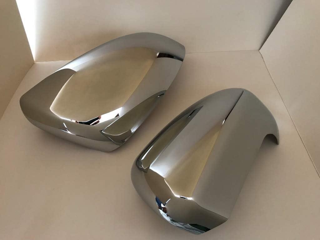 FFTH Couvercle de Miroir Exteior en Chrome ABS pour Nissan Qashqai 2008-2013
