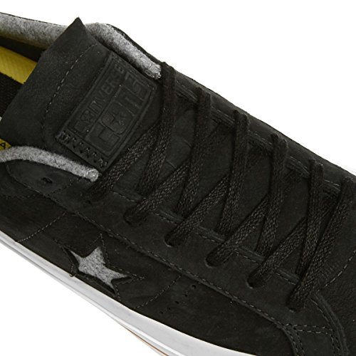 Unisex Low Converse Ash Grey One Gum Pro Nubuck Sneaker Top Black Star AqqpwBx