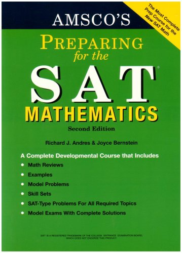 Amsco's Preparing for the Sat: Mathematics