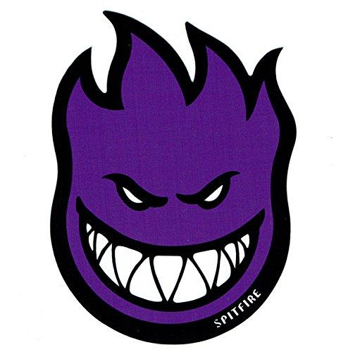 仮称遠洋のフックSpitfire Wheels Devil Head 11  Sticker purple スピットファイアーウィールズ デビルヘッド 11インチ ステッカー