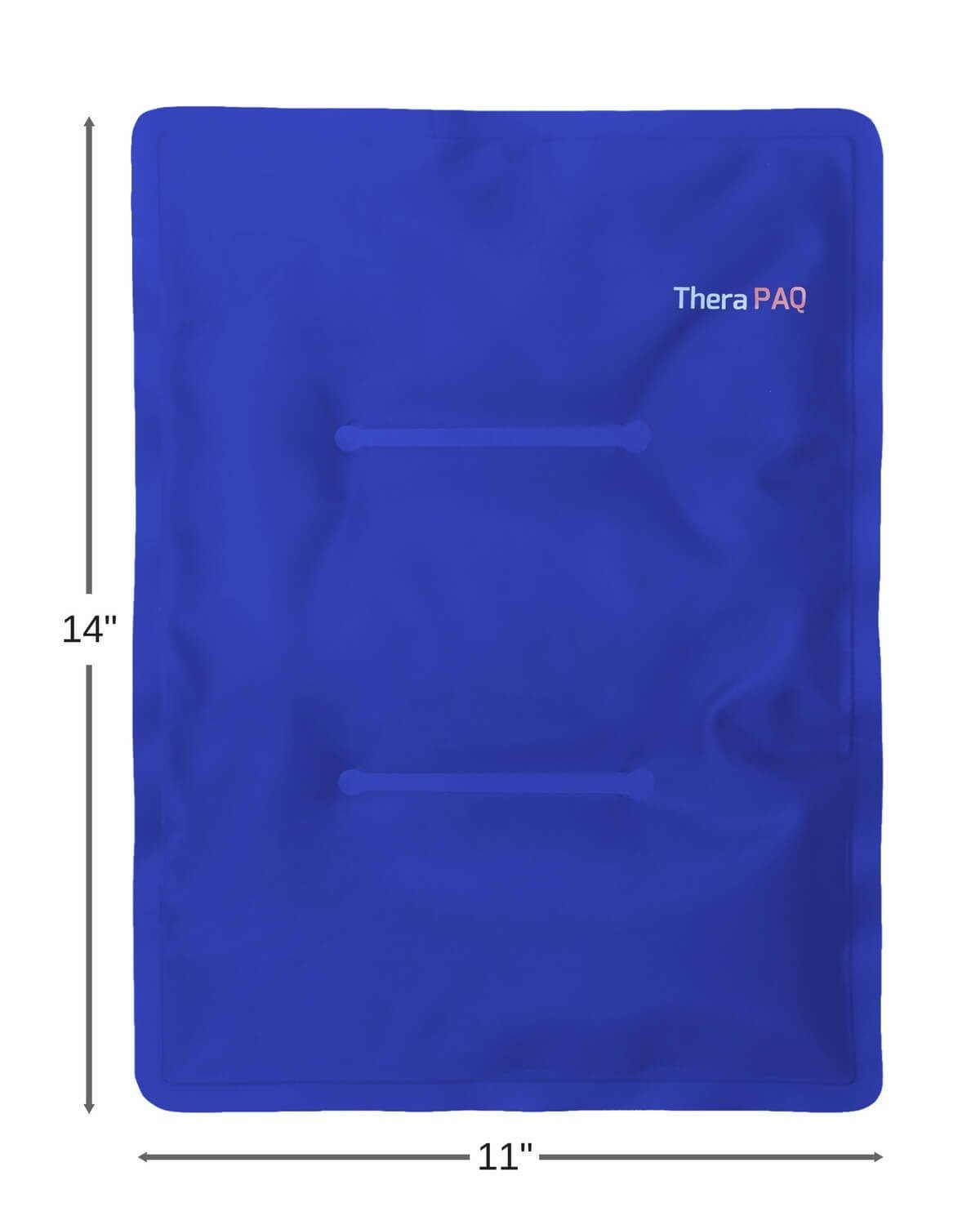 Large Gel Ice Pack by TheraPAQ: Reusable Hot & Cold Pack for Your Hips, Shoulders, Back, Arms, Legs, Knees - Refreezable & Microwavable Gel Pad for Pain Relief & Faster Injury Recovery