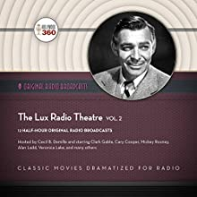 The Lux Radio Theatre, Vol. 2: The Classic Radio Collection Radio/TV Program Auteur(s) :  Hollywood 360 Narrateur(s) : Cecil B. DeMille,  full cast