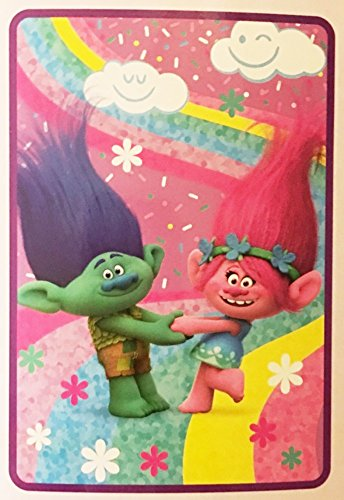 DreamWorks Trolls Plush Throw Blanket
